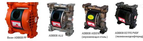 Мембранные насосы Серия Boxer ADB030
